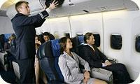 """Авиакомпания  """"Трансаэро """" получила новый вариант комплектации салона дальнемагистрального самолета Boeing-747-400."""